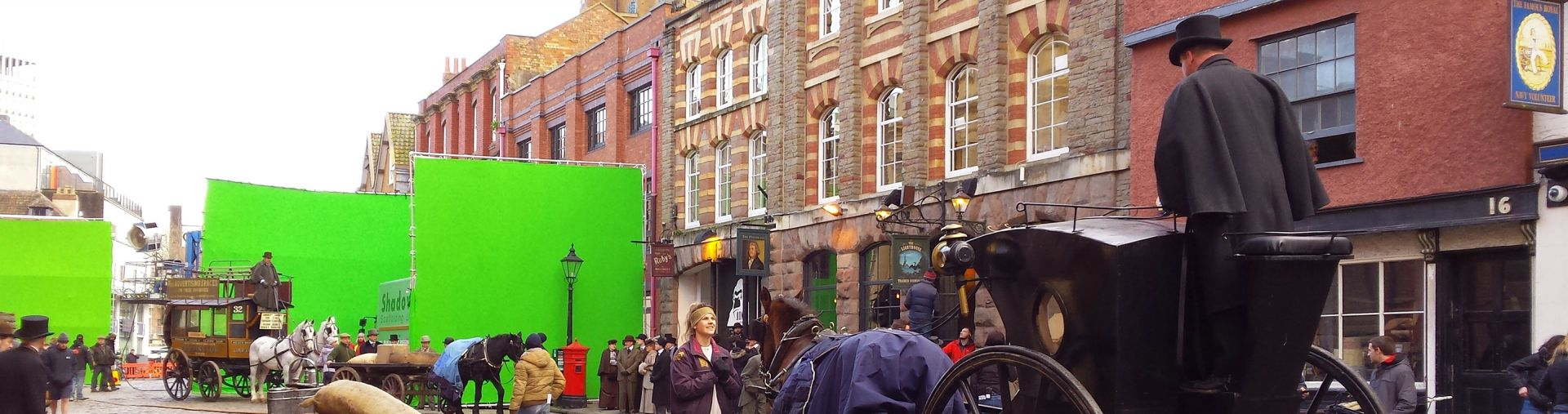 Sherlock filming