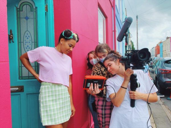 Calling the Shots Short film FRUITY by Anna-Mouzouri BTS image by Hannah-Huggins