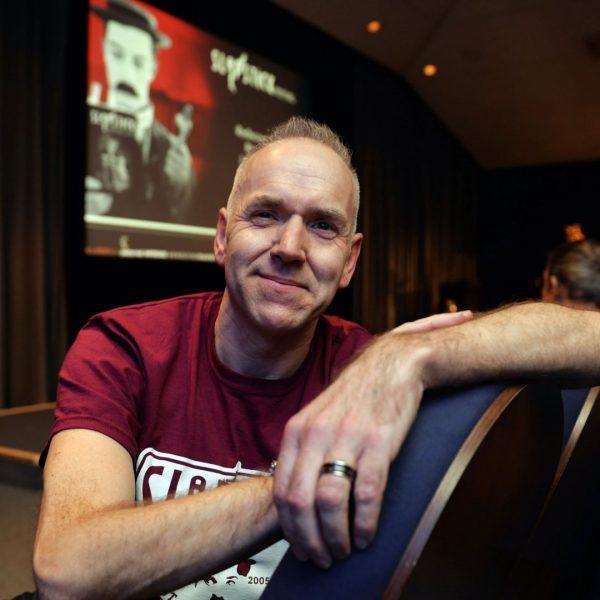 Chris Daniels, Director of Slapstick Festival