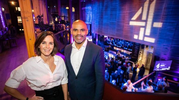 PIC mid Bristol launch: Alex Mahon and Mayor of Bristol Marvin Rees at the Channel 4 Bristol Creative Hub, 15th Jan 2020