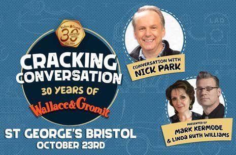 Conversation with Nick Park in Bristol