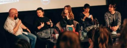 Rich Warren, Alice Whittmore, Alice Ramsay, Caroline Cooper-Charles and Alice Cabanas, BFI Network panel, Widening the Lens 2019